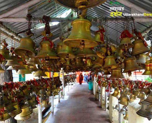 चितई गोल्जू देवता मंदिर का इतिहास और मान्यताये