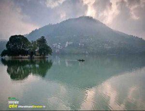 Bhimtal lake of bhimtal