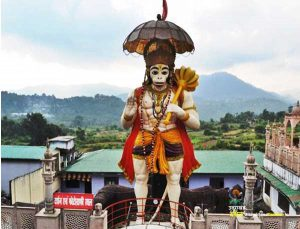 Hanuman garhi of bhimtal