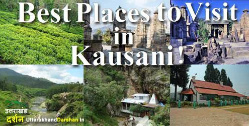 Attractive Places of Kausani
